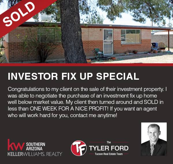 INVESTOR FIX UP SPECIAL SOLD IN 1 DAY!