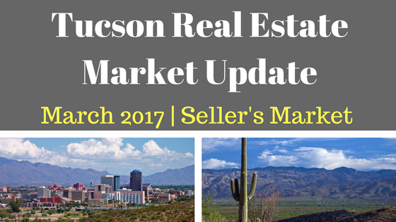 Tucson Residential Market Update March 2017