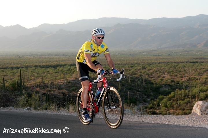 Saguaro National Park Bike Ride Tucson