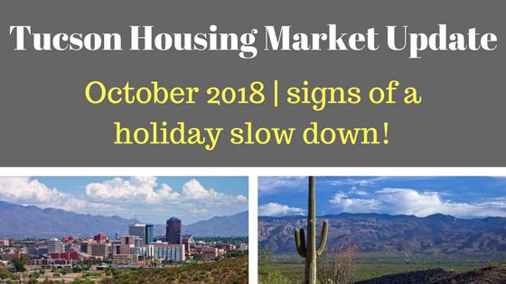 Tucson Arizona Housing Market Update October 2017
