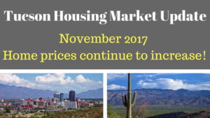 Tucson Arizona Housing Market Update November 2017