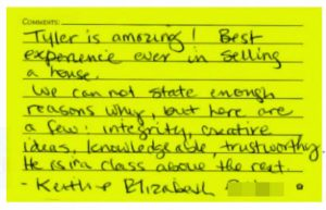 Tucson House Sold Customer Review