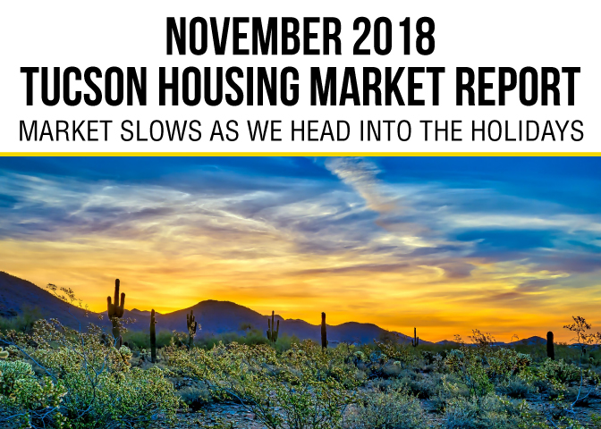 Tucson Housing Market Report November 2018